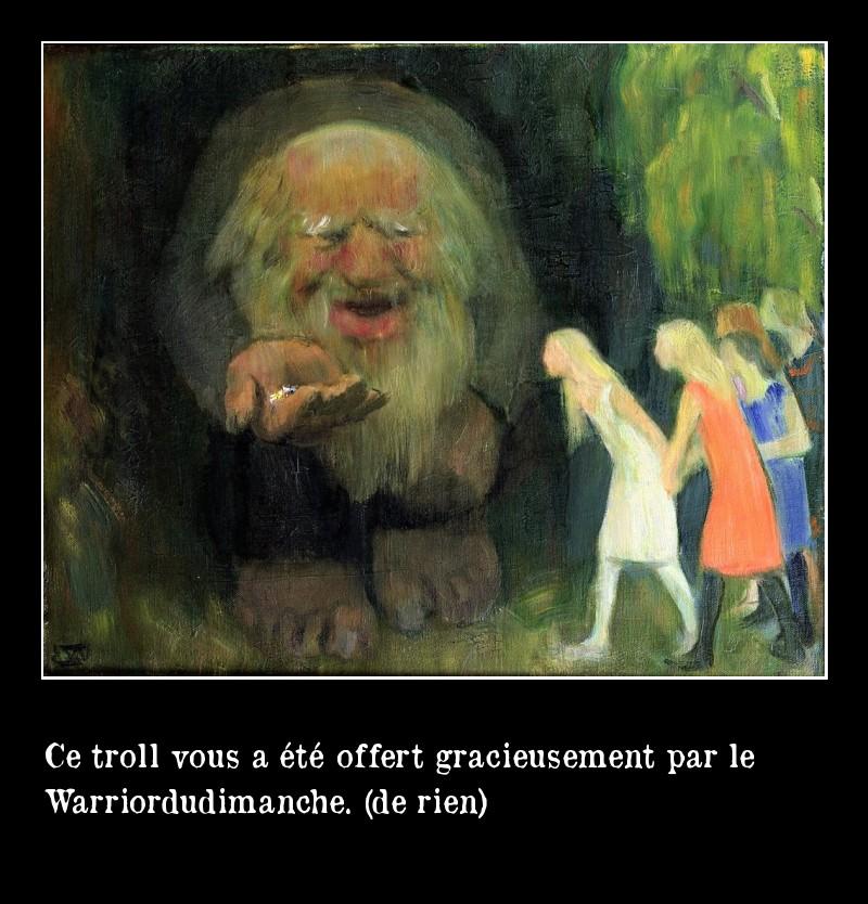 troll offert par WDD